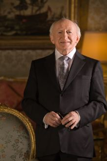 Michael D. Higgins, President of Ireland