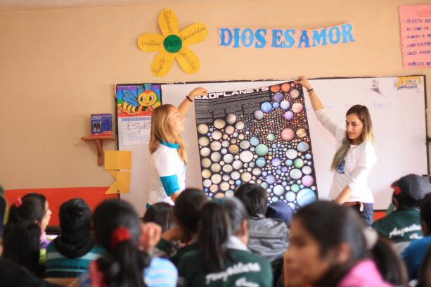 Activities about exoplanets in Peru.