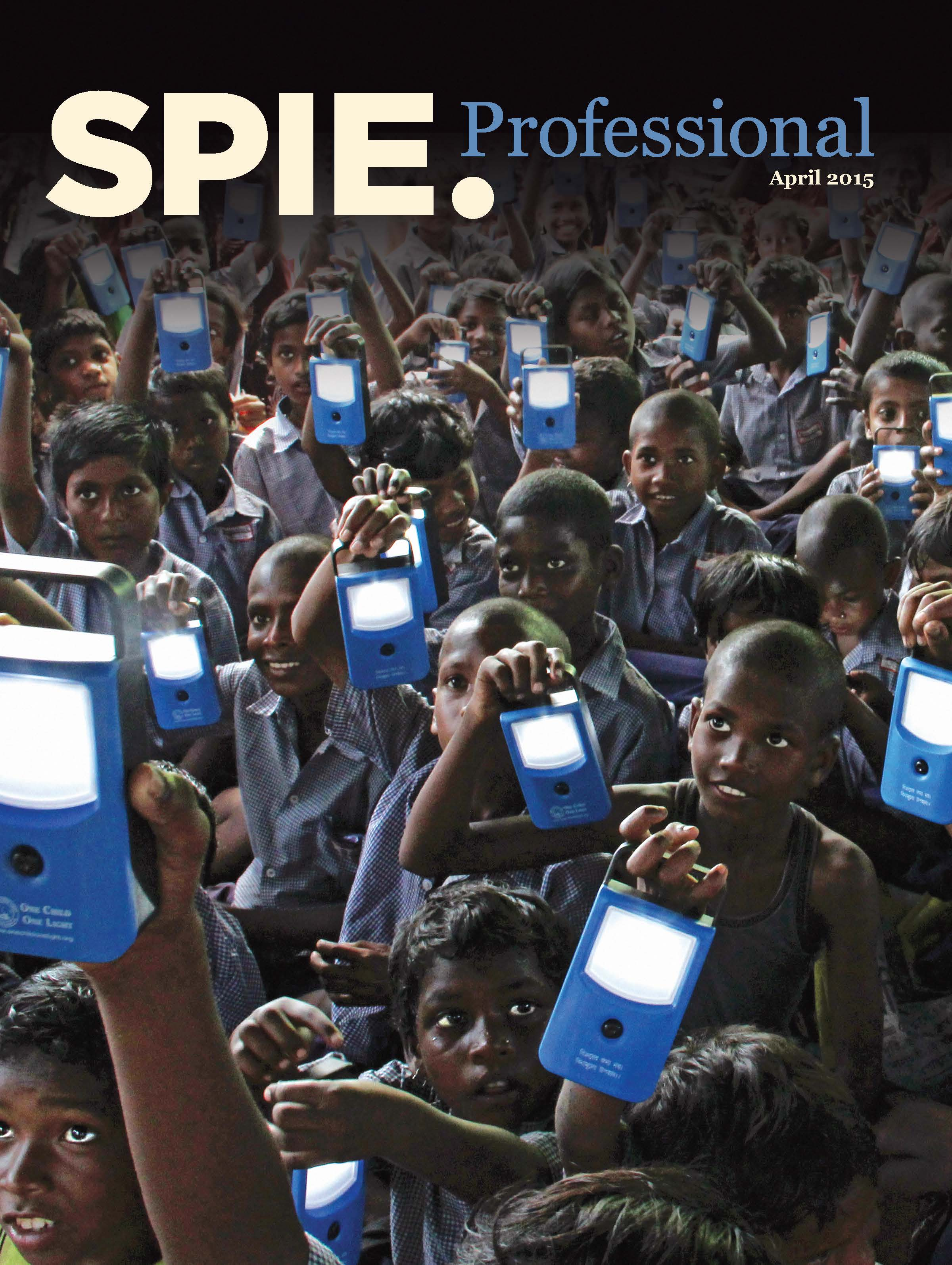 SPIE Professional April 2015